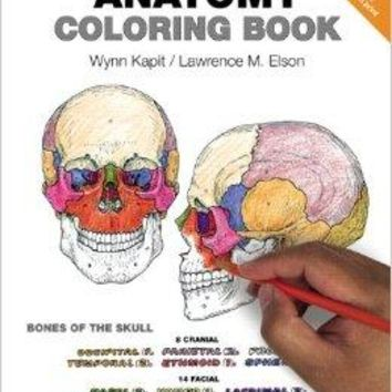 The Anatomy Coloring Book 4 CSM WKB