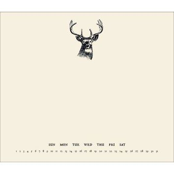 Buck Perpetual Mousepad Calendar, Hunting | Fishing by Incredibly Charming