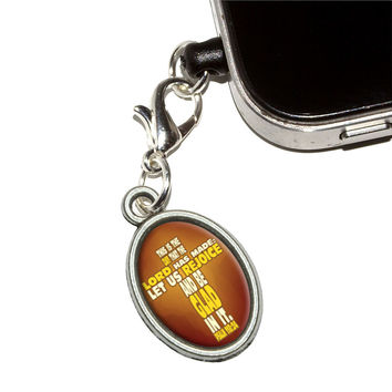 Bible Verse Cross Psalm - This is day that the Lord Mobile Phone Charm