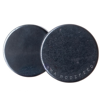 Raw Hematite Plugs (3mm-16mm)