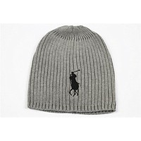Polo Ralph Lauren Hat Women Men Knit Winter Cap Beanies