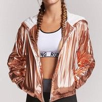 Active Metallic Windbreaker