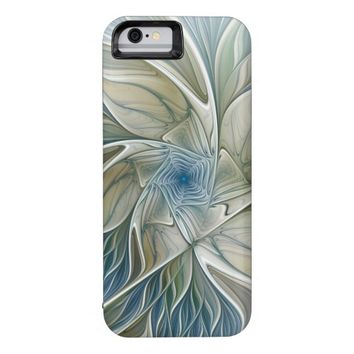 A Floral Dream Pattern Abstract Fractal Art iPhone 6 Case