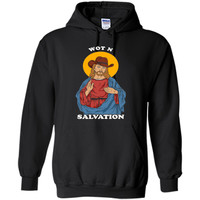 Wot N Salvation T-Shirt - Jesus What In Tarnation Meme cool shirt