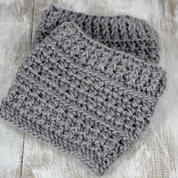 Crochet boot cuffs/ boot toppers - MADE TO ORDER- pick the size and color
