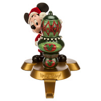 Santa Mickey Mouse Stocking Holder