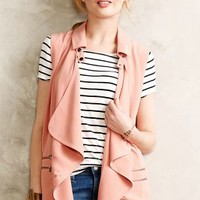 Rose Drape Vest by The Addison Story Pink