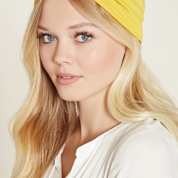 Gathered-Front Headwrap   Forever 21 - 1000204422