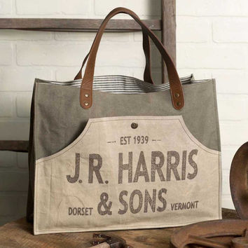 JR Harris & Sons Tote - *FREE SHIPPING*