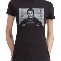 Supernatural Dean Mugshot Girls T-Shirt