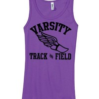 Junior's Varsity Track and Field Tank