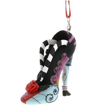 disney parks nightmare before christmas sally christmas shoe ornament new with tag