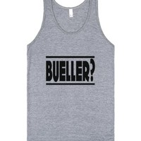 Athletic Grey Tank | Funny Ferris Bueller Movie Shirts