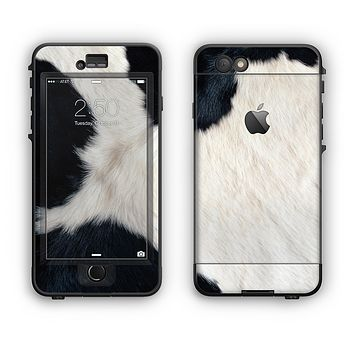 The Real Cowhide Texture Apple iPhone 6 Plus LifeProof Nuud Case Skin Set