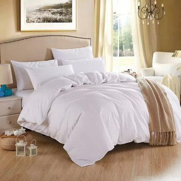 White Duvet Cover, Luxury Bedding