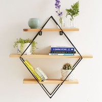 Diamond Cross Planes Shelf | Urban Outfitters