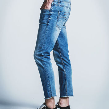 RSQ Seattle Mens Skinny Cropped Jeans | Tapered