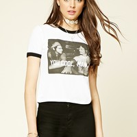 You Cool Man Graphic Ringer Tee