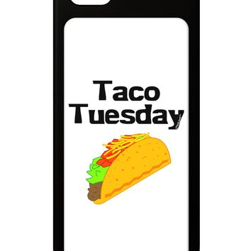Taco Tuesday Design iPhone 5 / 5S Grip Case  by TooLoud