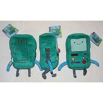 "Licensed cool NEW Adventure Time With Finn and Jake: BMO BEEMO Controller 8"" Plush Toy Doll"