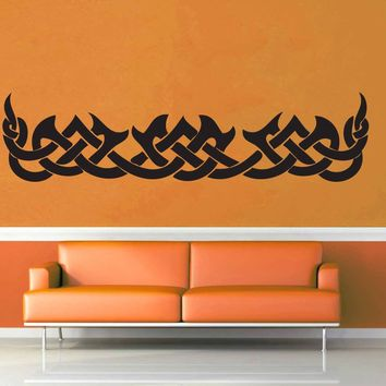 Flame Band - Celtic Knot - Wall Decal$8.95