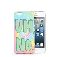 Tie Dye Um, No iphone 6 Case, iphone 6 Case Plastic Hard Case Unique Design-Quindyshop (iphone 6) (iphone 6 case) (NAM50)