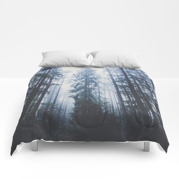 The mighty pines Comforters by happymelvin
