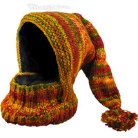 Fleece Lined Neck Warmer  Hat on Sale for $22.95 at The Hippie Shop
