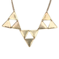 With Love From CA Triangle Collar Necklace at PacSun.com