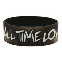 All Time Low Say It Don't Spray It Rubber Bracelet
