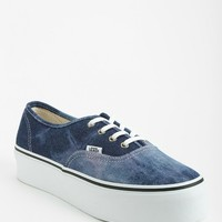 Vans Authentic Acid Denim Women's Platform-Sneaker - Urban Outfitters