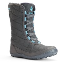 Columbia Crystal Mid City Women's Waterproof Winter Boots (Grey)