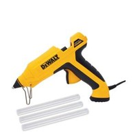 DEWALT, Rapid Heat Ceramic Glue Gun with 10 in. Glue Stick (3-Sticks), DWHT74238 at The Home Depot - Mobile
