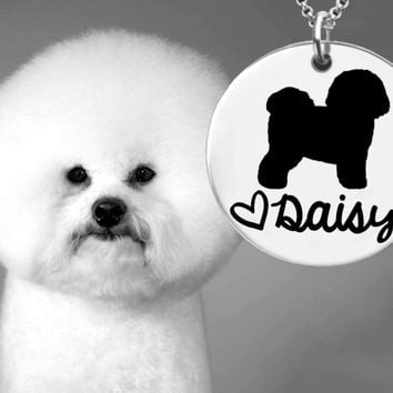 Bichon Frise Dog Personalized Jewelry