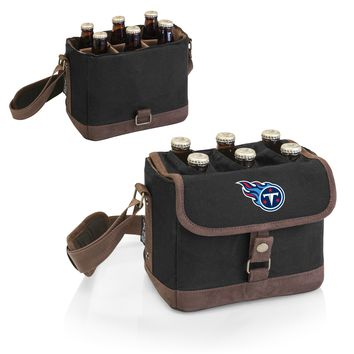 Tennessee Titans 'Beer Caddy' Cooler Tote with Opener-Black Digital Print