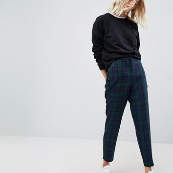 ASOS Tailored Anarchy Zip Detail PANTS at asos.com