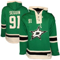 Dallas Stars Tyler Seguin Heavyweight Jersey Lacer Hoodie