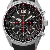 Seiko Mens Solar Power Chronograph Watch