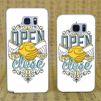 B1637 Harry Potter Transparent Hard PC Case Cover For Samsung Galaxy S 3 4 5 6 7 Mini Edge Plus Note 3 4 5 7