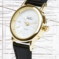Leather Retro Roman Watch - Urban Outfitters