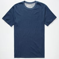 Hurley Staple Dri-Fit Mens T-Shirt Heather Navy  In Sizes