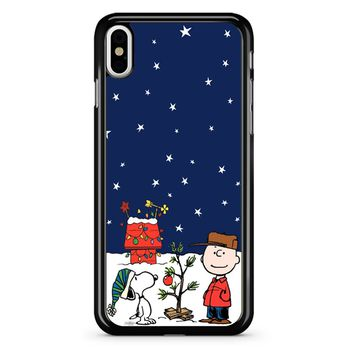 Charlie Brown Peanuts Snoopy iPhone X Case