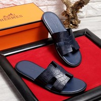 HERMES Men Men's slippers shoes sandals