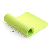 4 Colors Yoga Mat Exercise Pad Thick Non-slip Folding Mat- 4 mm Unisex