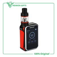 Original Smok G-Priv 220W Touch Screen Kit with GPriv 220 Box Mod Vape and 5ML TFV8 Big Baby Tank Atomizer Vaprozier