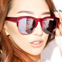 Wildfox Couture Club Fox Deluxe Sunglasses Wet Paint One