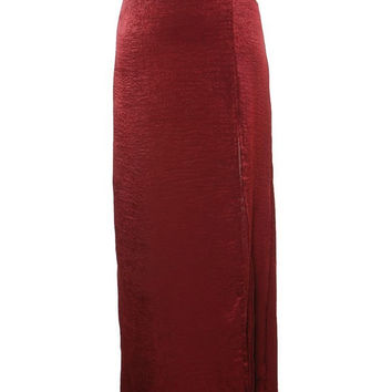 The Debonair Maxi Skirt