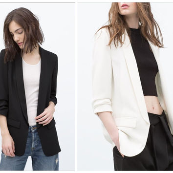Autumn Casual Blazer Jacket [6512943431]