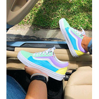 VANS Old Skool Splice Color Sneaker