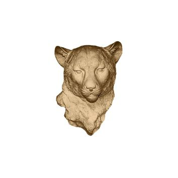 The Chester | Cheetah Leopard Head | Faux Taxidermy | Bronze Resin